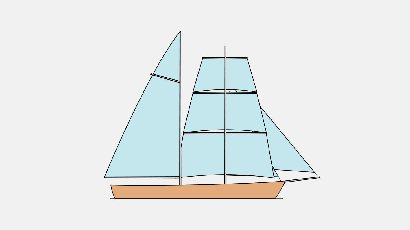 Тип парусного вооружения бригантина