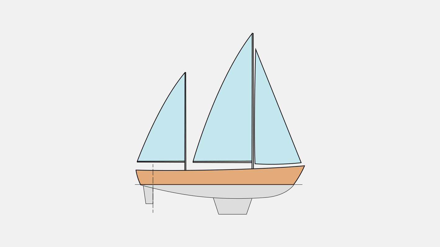 Тип парусного вооружения кэч
