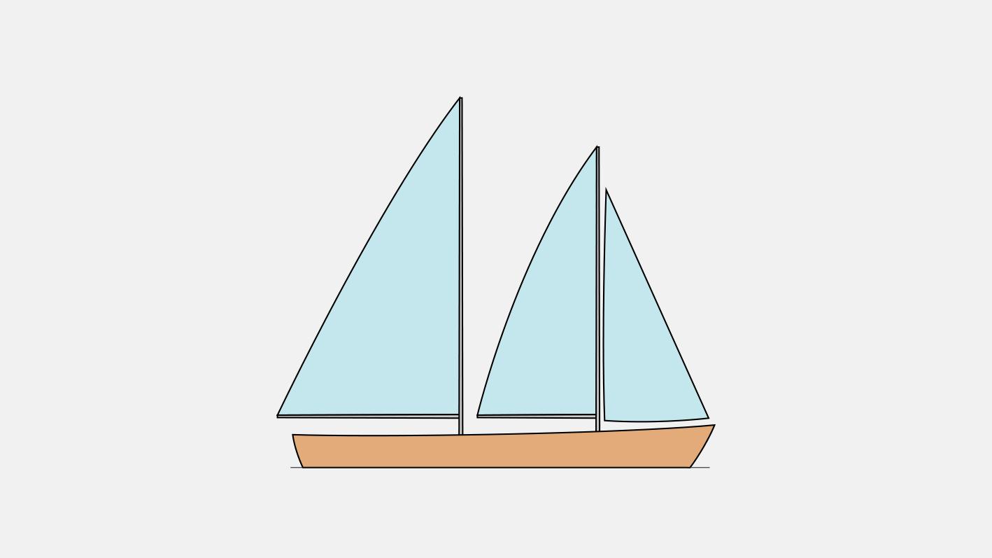 Тип парусного вооружения шхуна